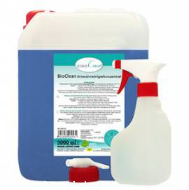 casaCare BioClean Intensivreinigerkonzentrat 5.000 ml mit Hahn+Sprühflasche